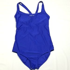 Roots | Royal Blue One Piece Swimsuit Size 14/34